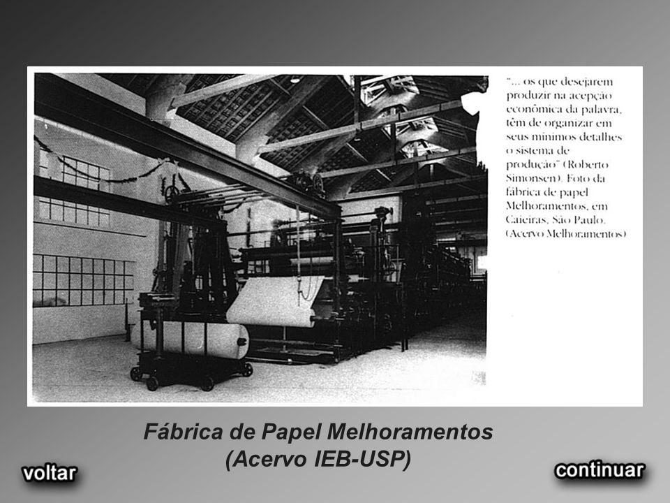 Fábrica de Papel Melhoramentos (Acervo IEB-USP)