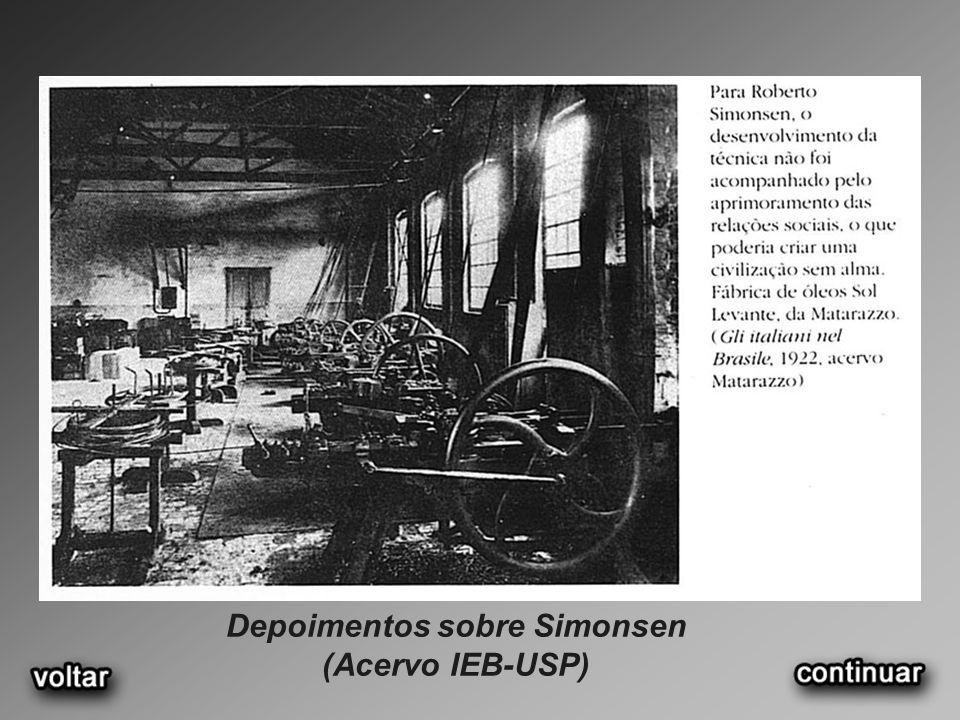 Depoimentos sobre Simonsen (Acervo IEB-USP)