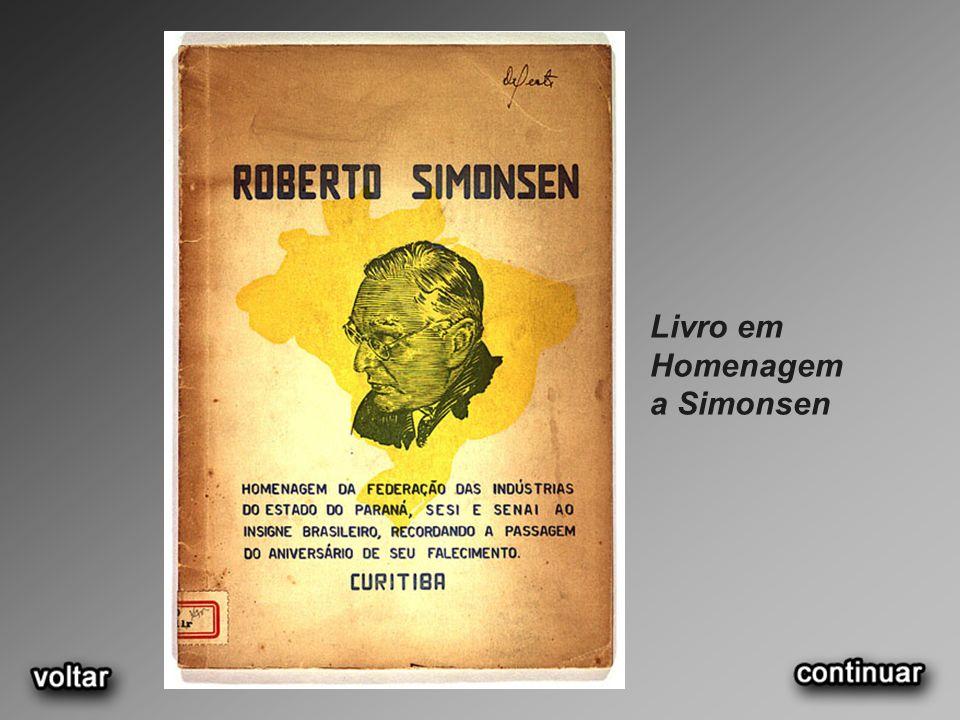 Livro em Homenagem a Simonsen