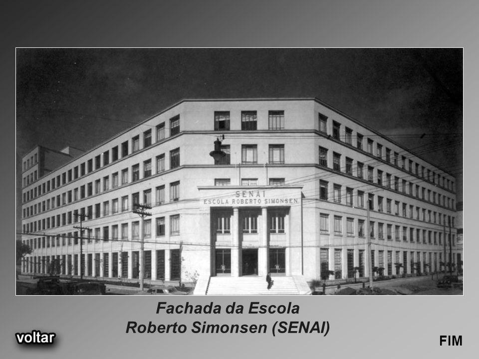 Fachada da Escola Roberto Simonsen (SENAI) FIM