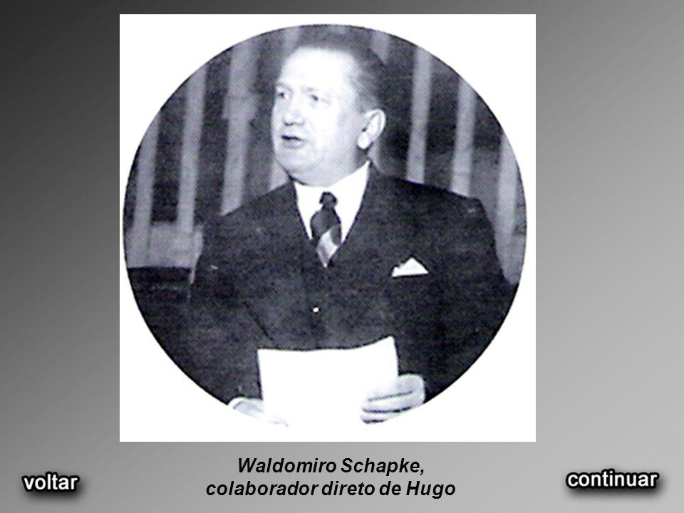 Waldomiro Schapke, colaborador direto de Hugo