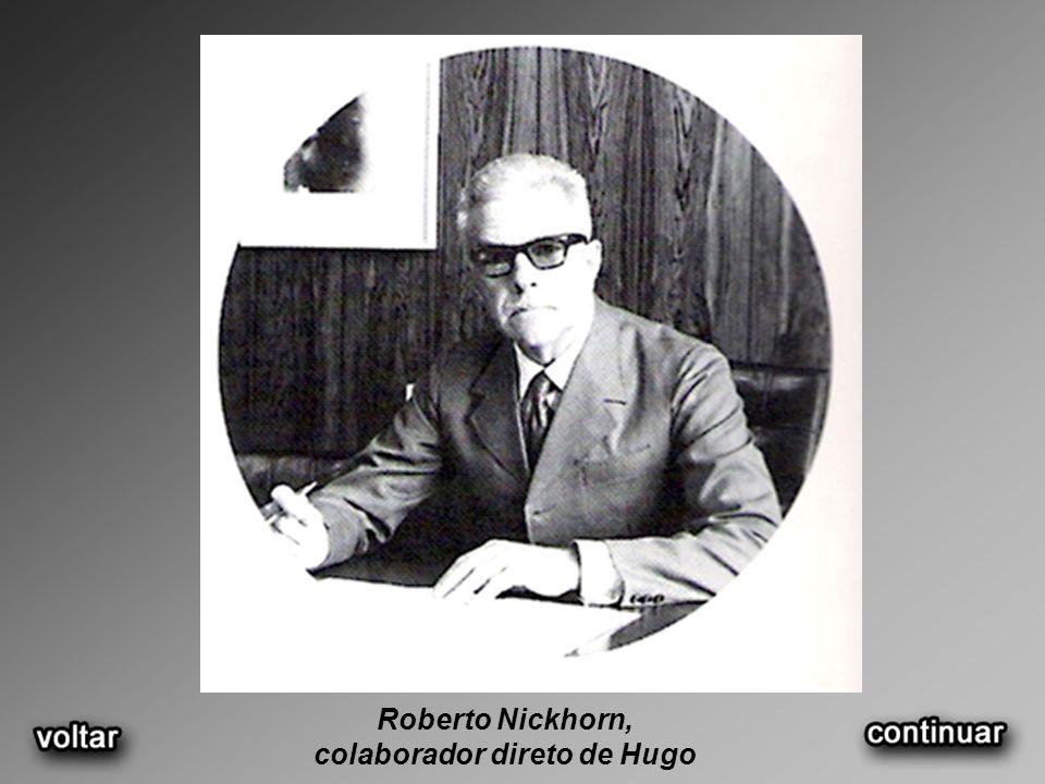 Roberto Nickhorn, colaborador direto de Hugo
