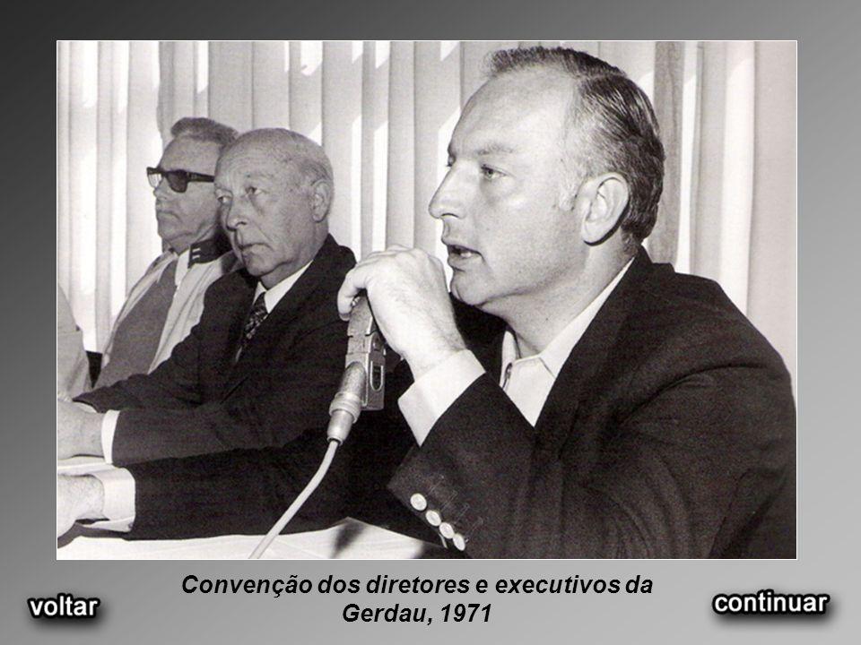 Convenção dos diretores e executivos da Gerdau, 1971