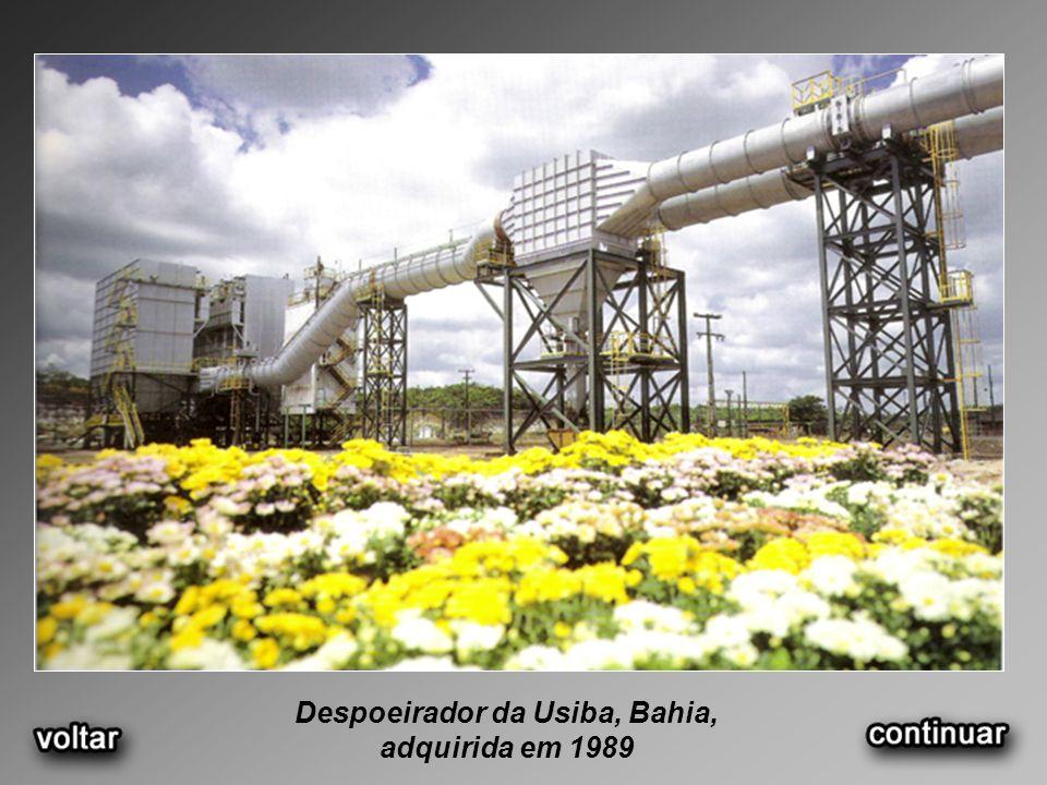 Despoeirador da Usiba, Bahia, adquirida em 1989