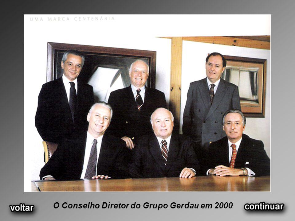 O Conselho Diretor do Grupo Gerdau em 2000