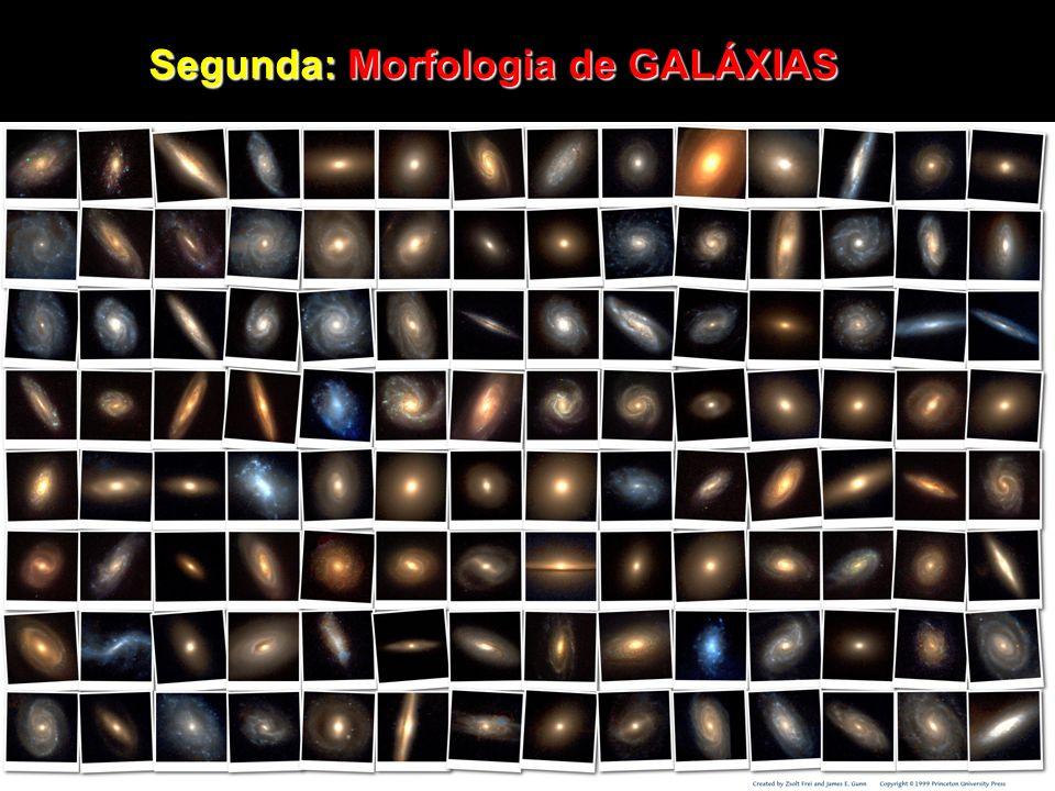 Superaglomerados - Universo em grande escala mostra distribuição aparentemente homogênea de hiperestruturas e vazios com dimensões: - Universo em grande escala mostra distribuição aparentemente homogênea de hiperestruturas e vazios com dimensões: Estruturas ~~1 bilhão de a.l Estruturas ~~1 bilhão de a.l Vazios 250 milhões de a.l Vazios 250 milhões de a.l - Gravidade atração entre td e qualquer matéria/energia não sabemos pq existe gravidade nem entendemos completamente c/o a Fg é exercida # sabemos que ela é responsável por coletar qdes absurdas de matéria em vastos continentes, separados por vazios comparáveis em dimensões # sabemos que ela é responsável por coletar qdes absurdas de matéria em vastos continentes, separados por vazios comparáveis em dimensões