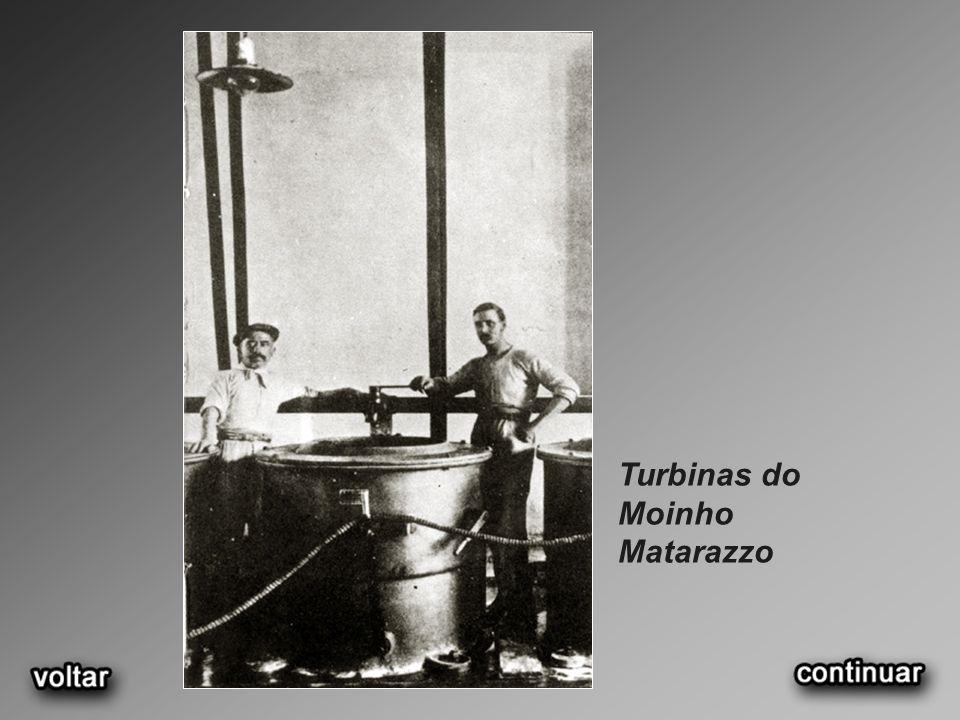 Turbinas do Moinho Matarazzo