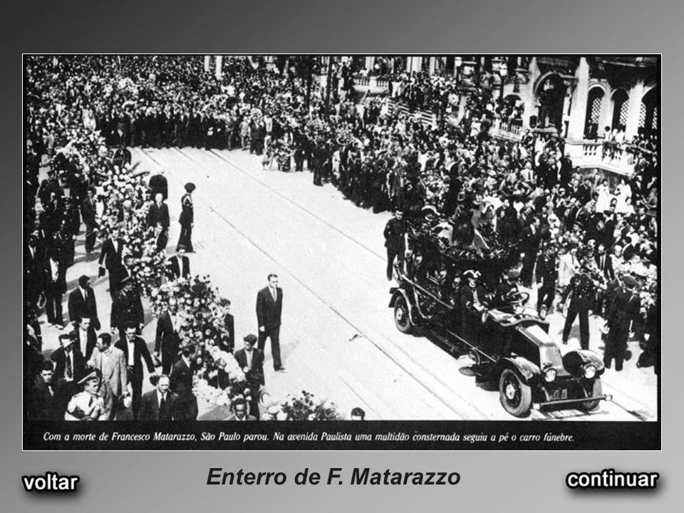 Enterro de F. Matarazzo