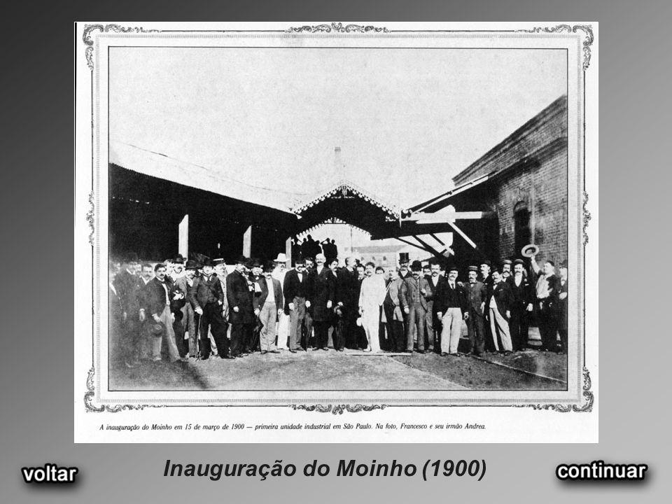 Inauguração do Moinho (1900)