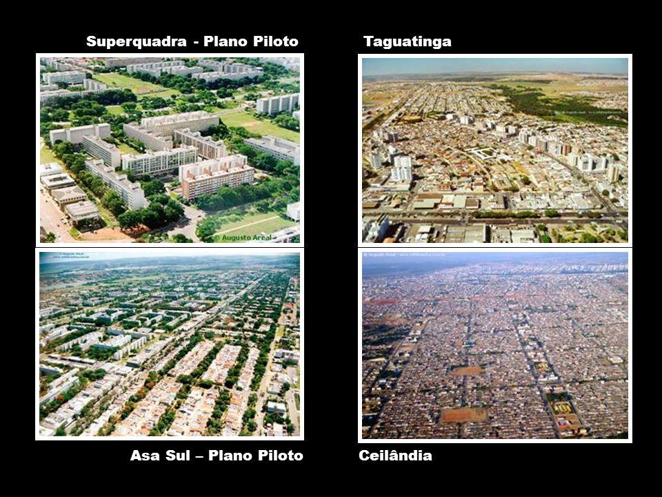 AUP 5823 – SEMINÁRIO DE INTEGRAÇÃO (ANTIGA AVALIAÇÃO DA TEORIA INTRA-URBANA) Professores: Csaba Deak e Nuno de Azevedo Ceilândia Taguatinga Asa Sul – Plano Piloto Superquadra - Plano Piloto