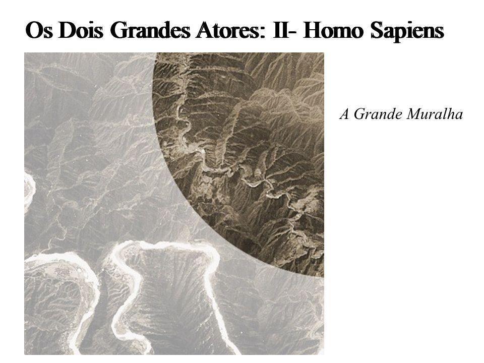 Os Dois Grandes Atores: II- Homo Sapiens A Grande Muralha
