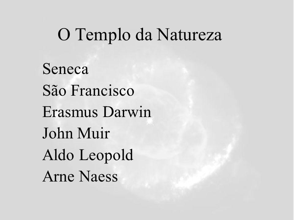 O Templo da Natureza Seneca São Francisco Erasmus Darwin John Muir Aldo Leopold Arne Naess