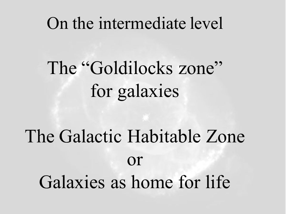 On the most universal (or multi-universal) level -The Universe as a Goldilocks problem