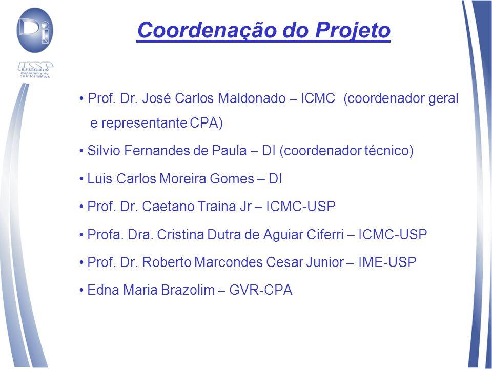 Coordenação do Projeto Prof. Dr.
