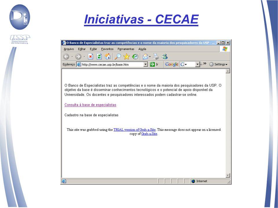 Iniciativas - CECAE