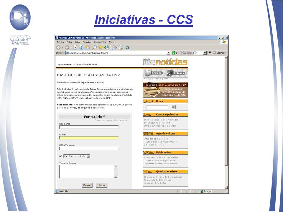 Iniciativas - CCS