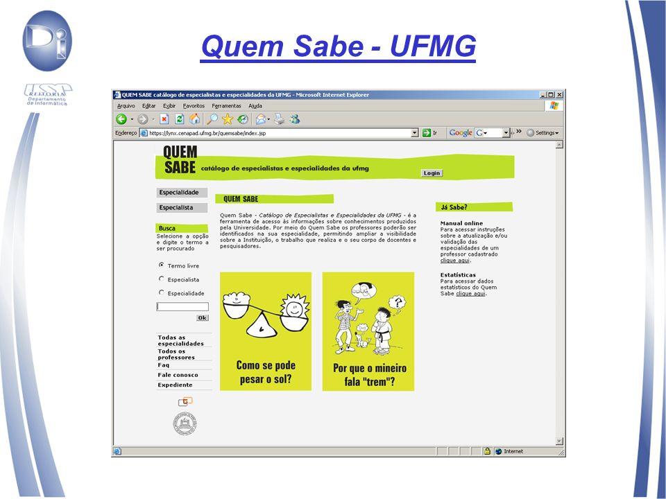 Quem Sabe - UFMG