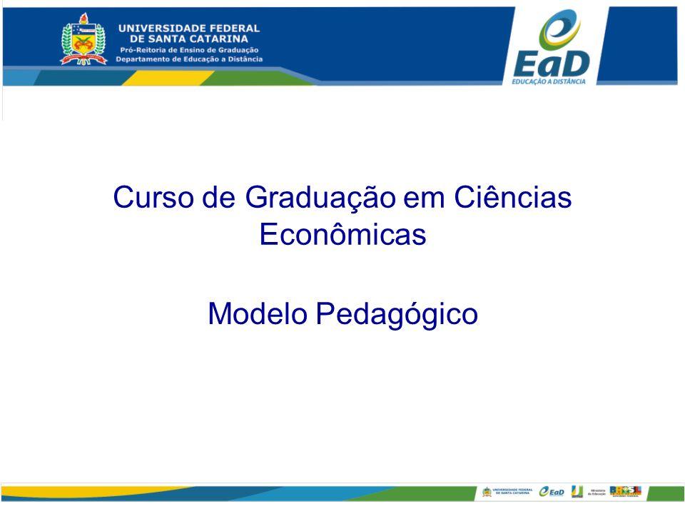 Curso de Graduação em Ciências Econômicas Modelo Pedagógico