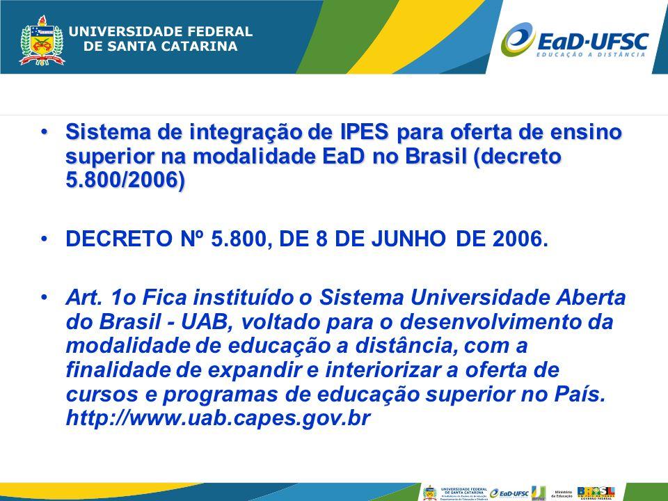 a)De Avaliação; b)De Gestão Financeira; c)De Infra-estrutura; d)De capacitação; e)Do sistema eletrônico de gestão acadêmica (campusvirtual) e Pesquisa.