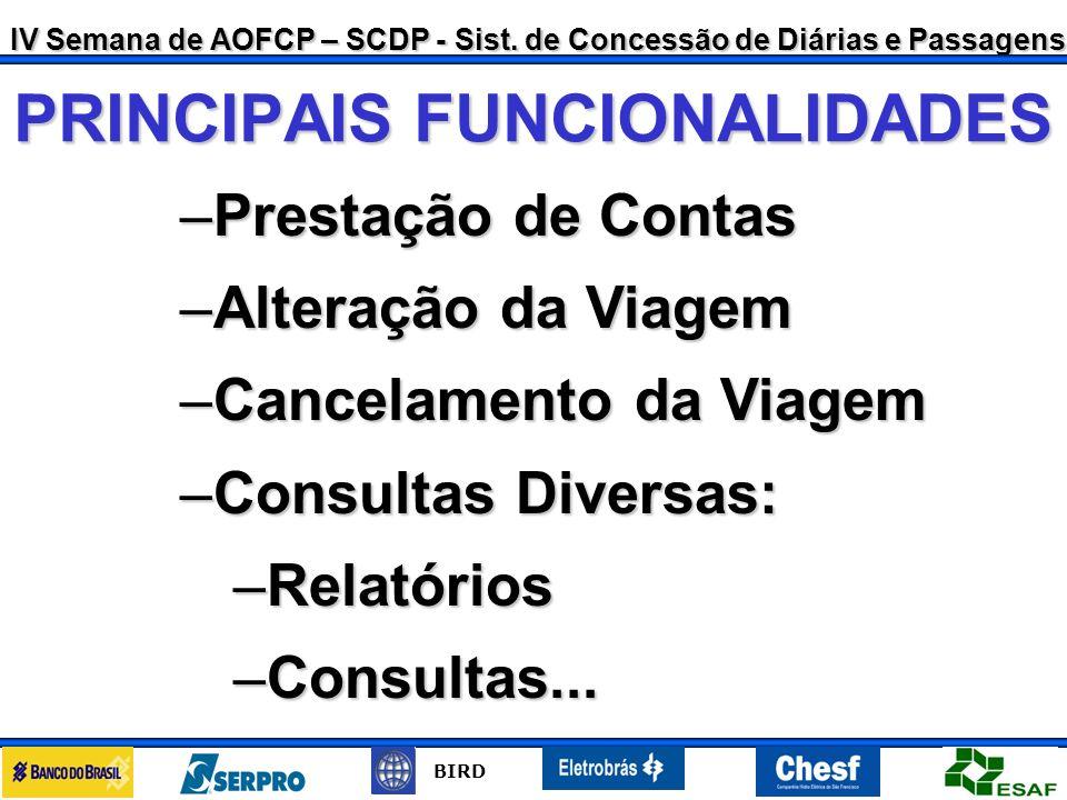 IV Semana de AOFCP – SCDP - Sist.