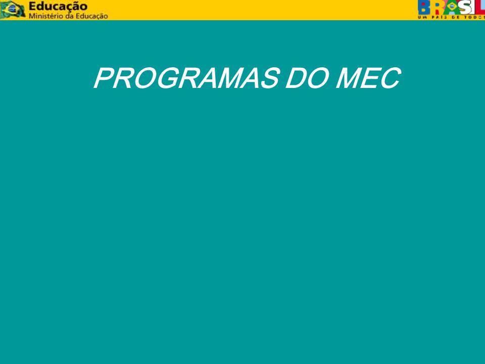 PROGRAMAS DO MEC