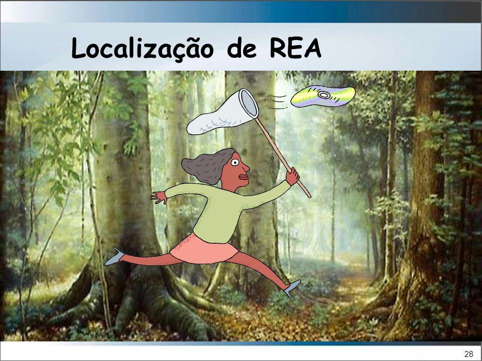 28 Localização de REA