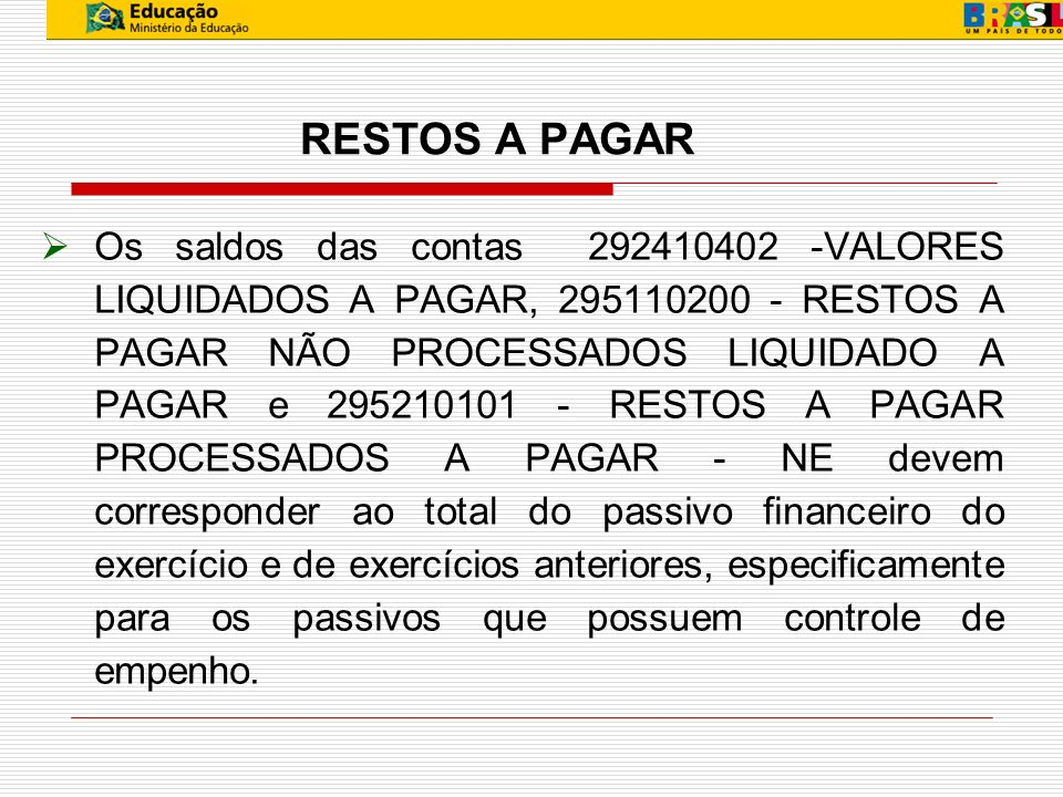 TIPO 5 - DEMONTRATIVO DAS DAS DISPONIBILIDADES POR FONTE DE RECURSOS 1.