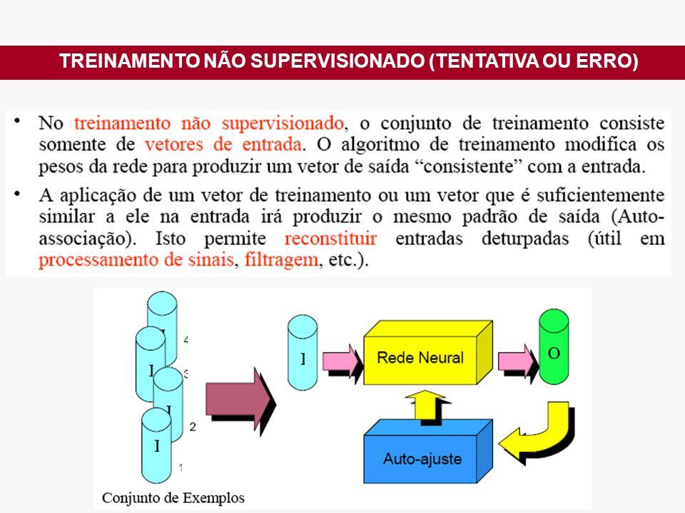 TREINAMENTO NÃO SUPERVISIONADO (TENTATIVA OU ERRO)