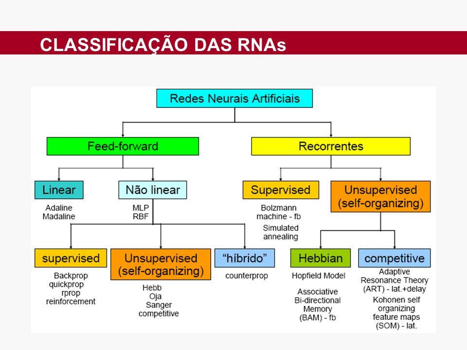 CLASSIFICAÇÃO DAS RNAs