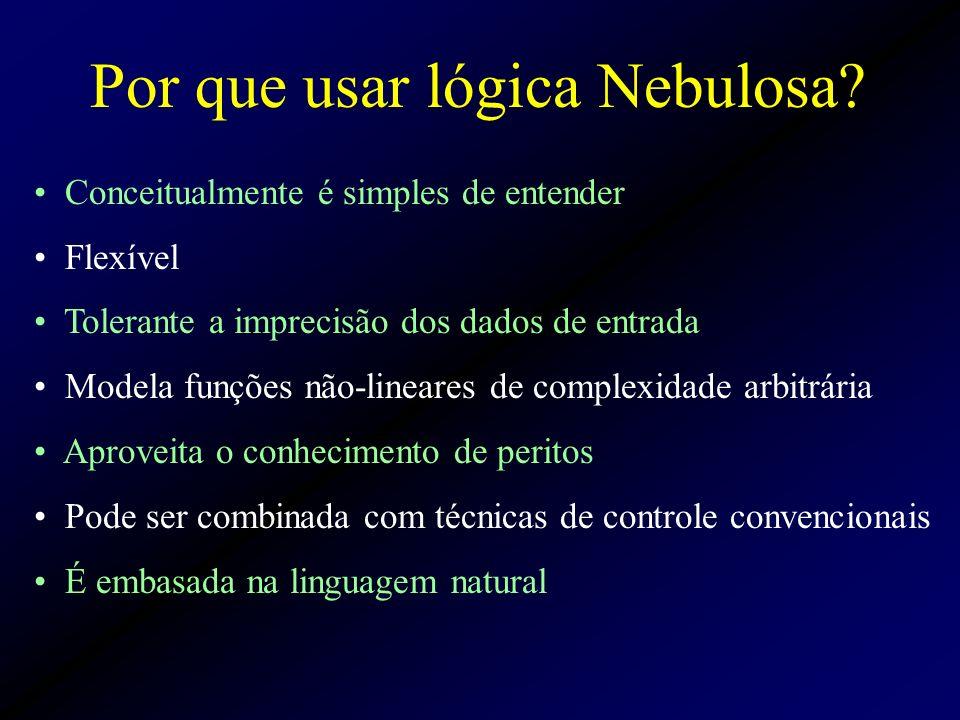 Conceitualmente é simples de entender Flexível Tolerante a imprecisão dos dados de entrada Modela funções não-lineares de complexidade arbitrária Apro