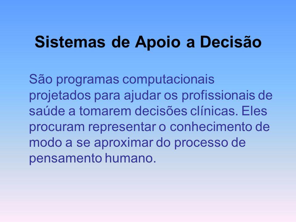 ALGUNS TEMAS DE PESQUISA Sistemas de Apoio a Decisão Inteligência artificial
