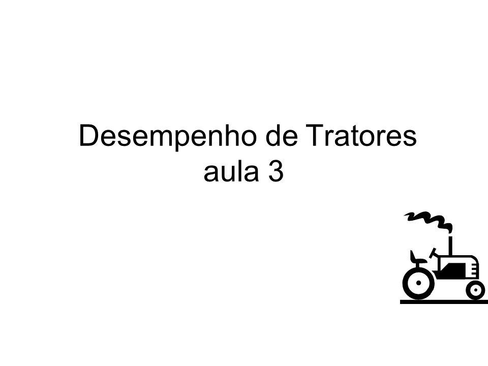 Desempenho de Tratores aula 3