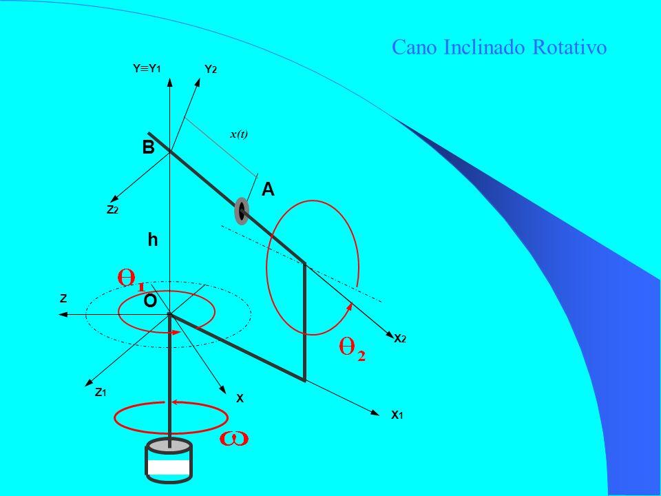 h x(t) X1X1 Z1Z1 X2X2 Z2Z2 Y2Y2 O B A X Z Y Y 1 Cano Inclinado Rotativo