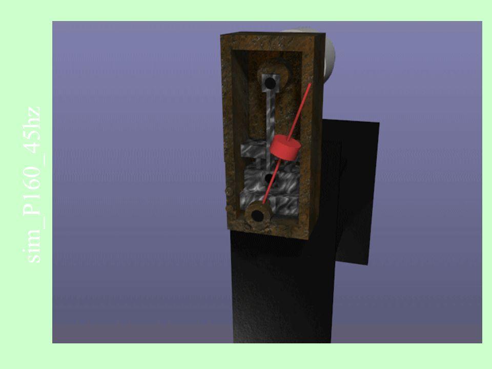 Cinemática e Cinética de Partículas no Plano e no Espaço Sistemas de Referência de Coordenadas O X Y A B P l = 75 mm l 1 = 75 mm r = 5 mm Descrever o resultado final esperado da simulação dinâmica a ser desenvolvida