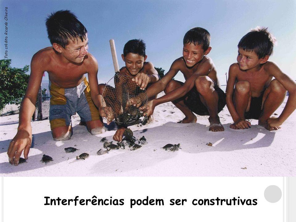 Interferências podem ser construtivas Foto crédito Ricardo Oliveira