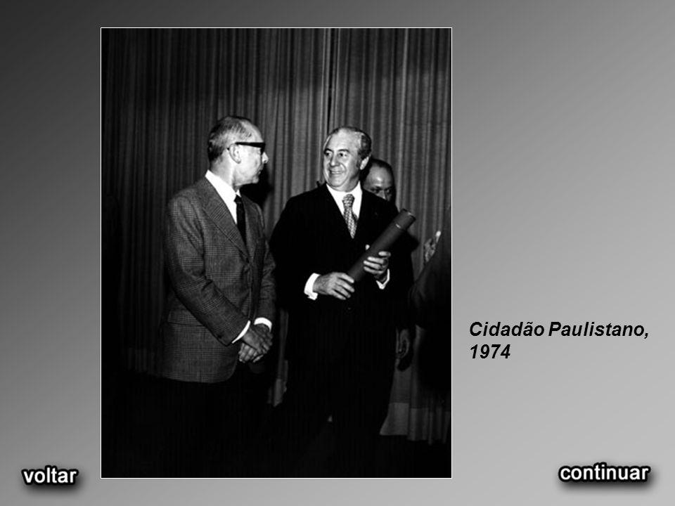Cidadão Paulistano, 1974