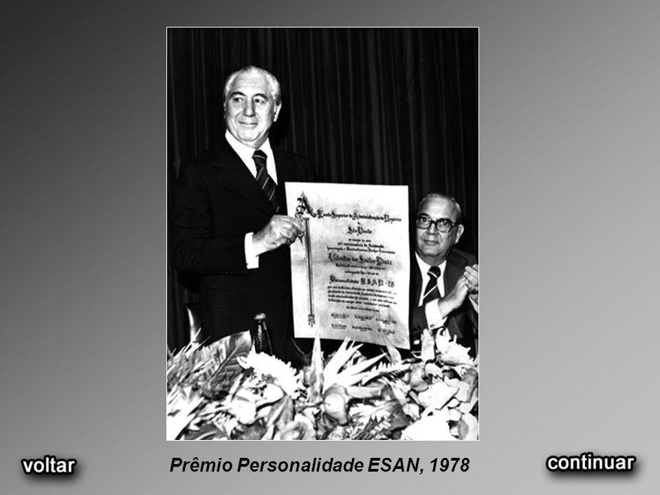 Prêmio Personalidade ESAN, 1978