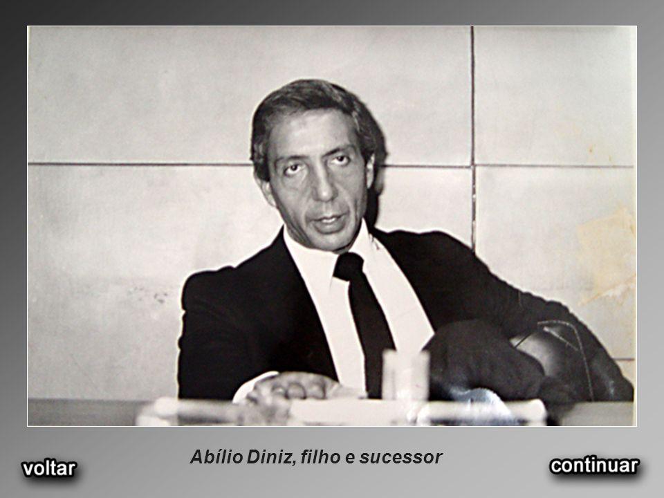 Abílio Diniz, filho e sucessor