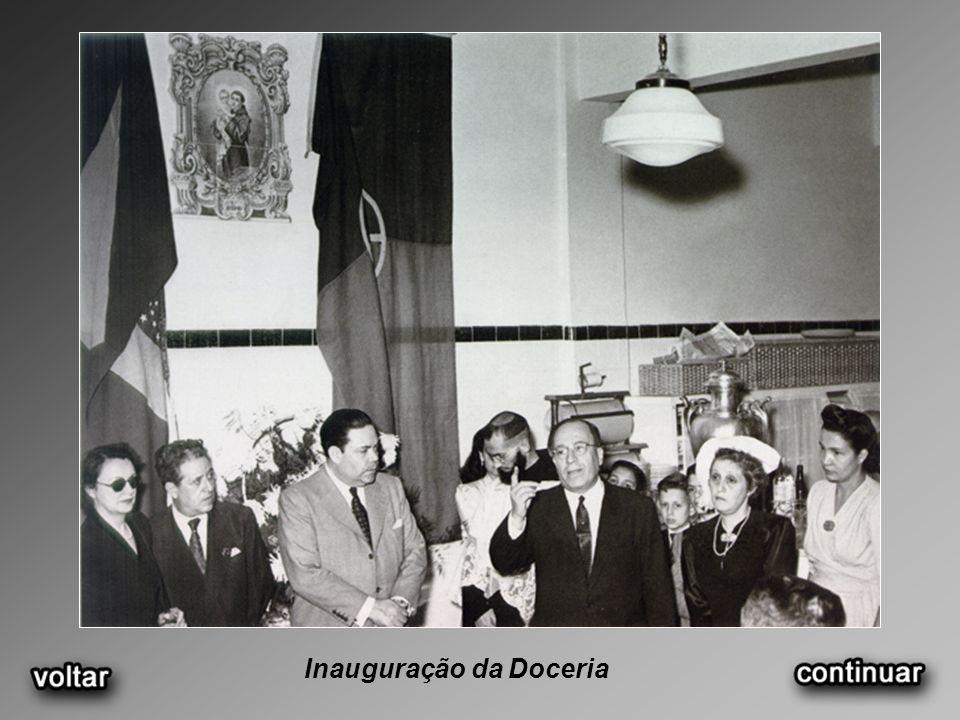 Inauguração da Doceria