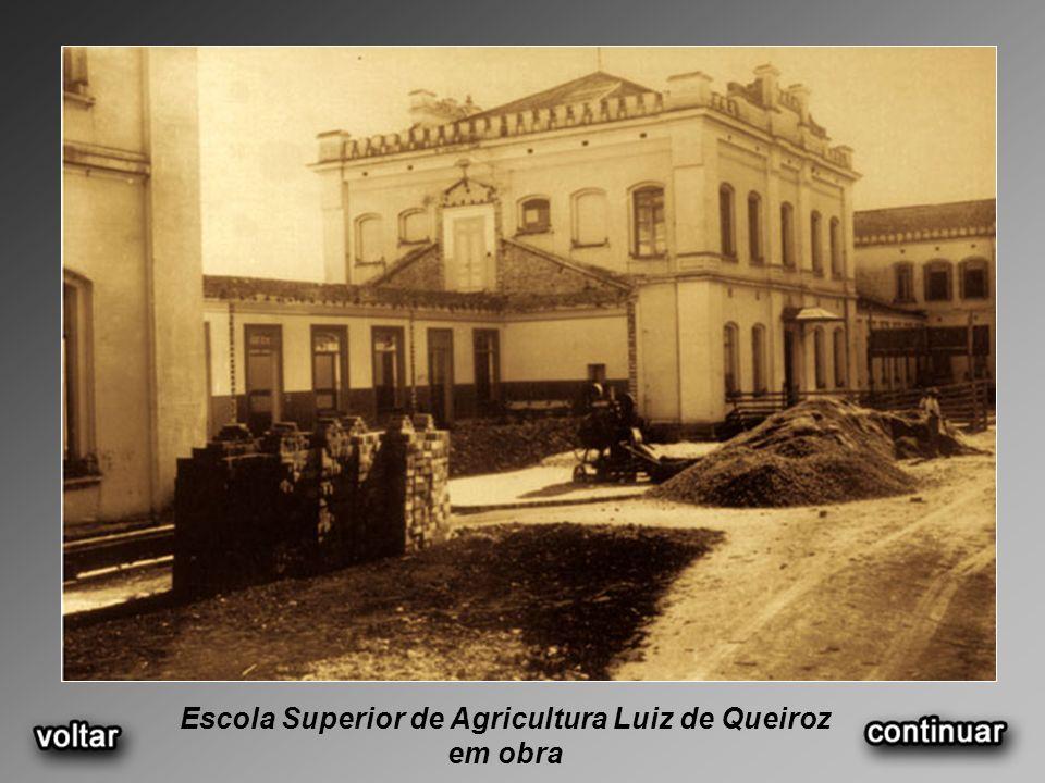 Escola Superior de Agricultura Luiz de Queiroz em obra