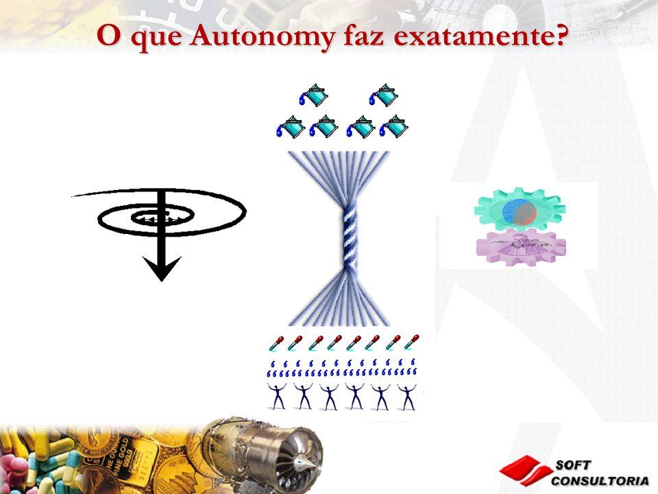 O que Autonomy faz exatamente
