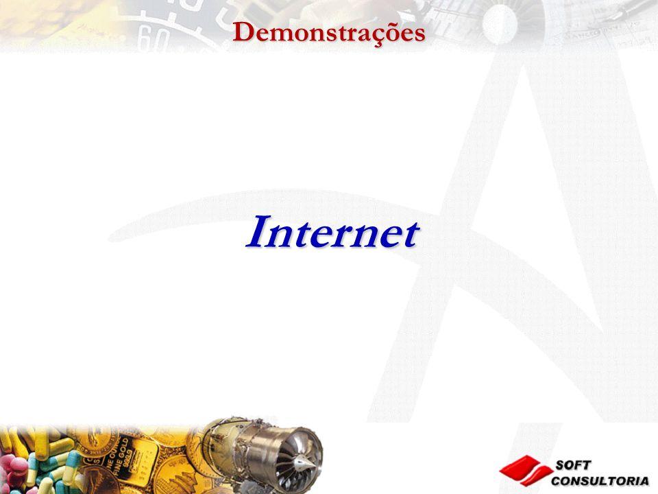 Demonstrações Internet