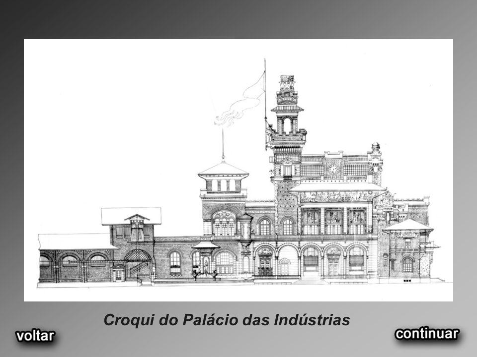 Croqui do Palácio das Indústrias