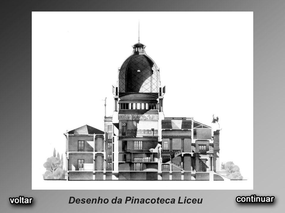 Desenho da Pinacoteca Liceu