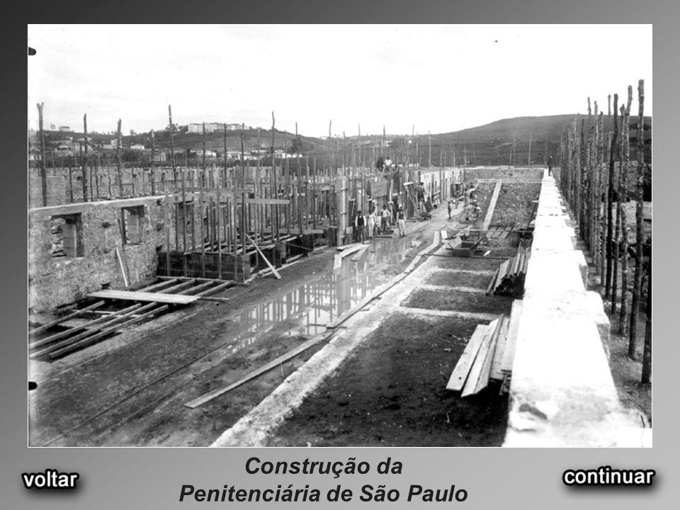 Construção da Penitenciária de São Paulo