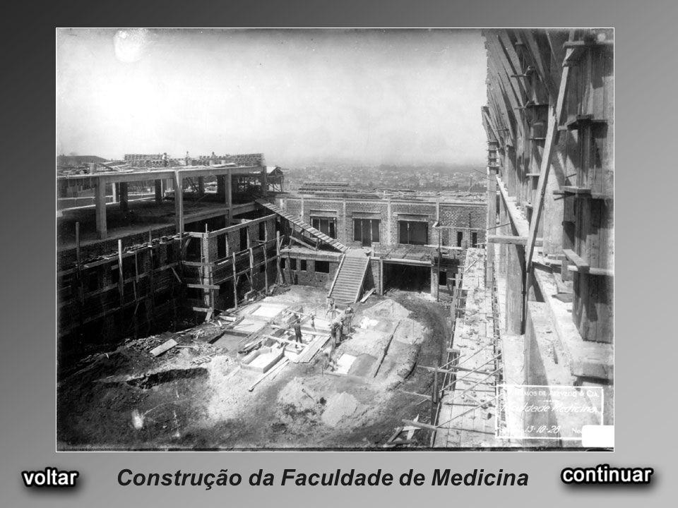Construção da Faculdade de Medicina