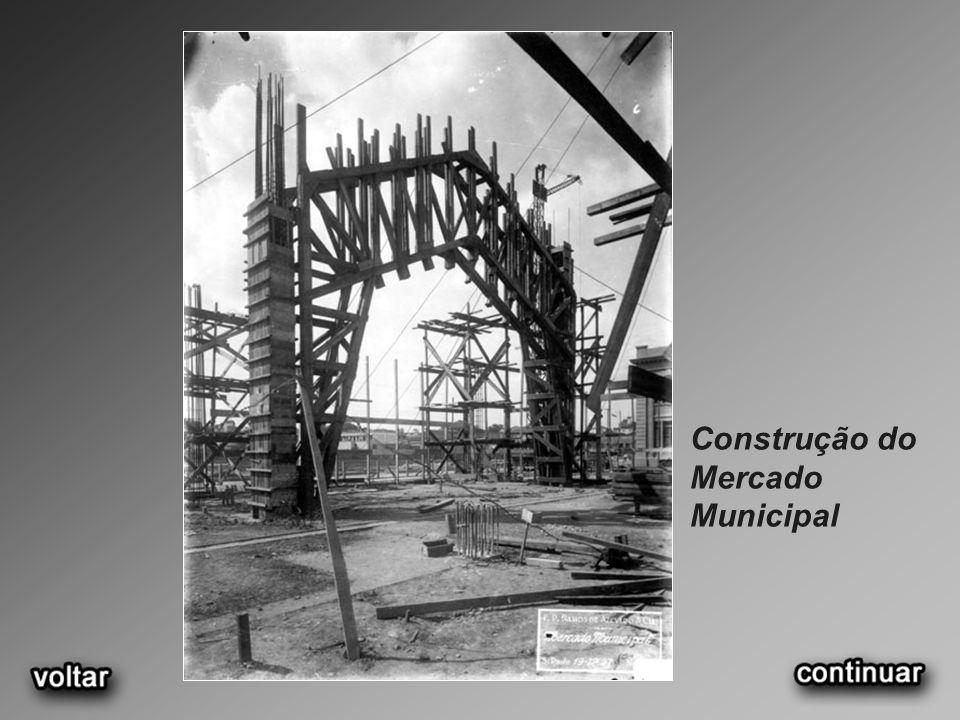 Construção do Mercado Municipal
