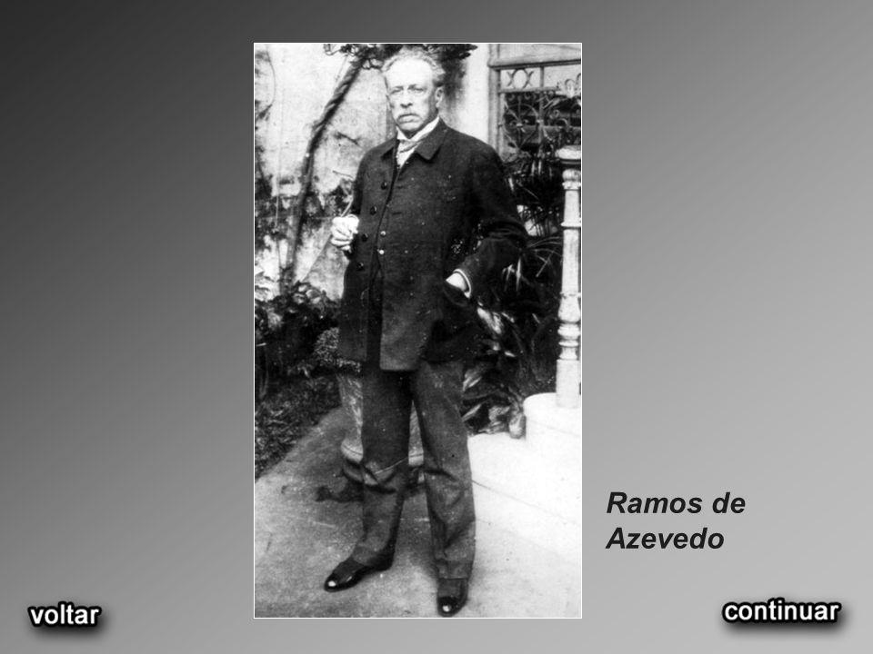 Ramos de Azevedo no jardim