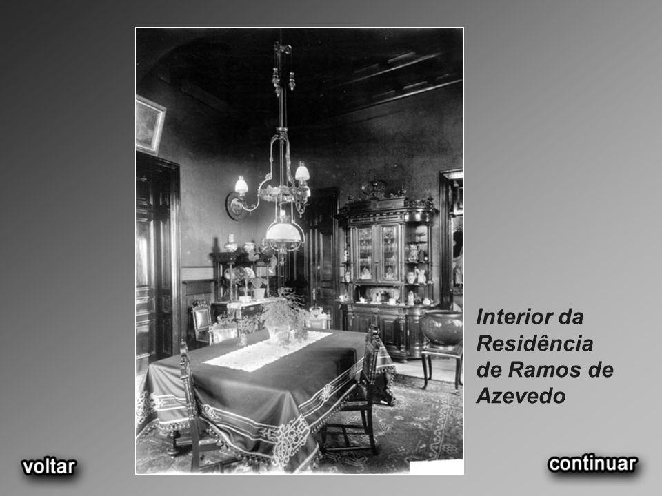 Interior da Residência de Ramos de Azevedo