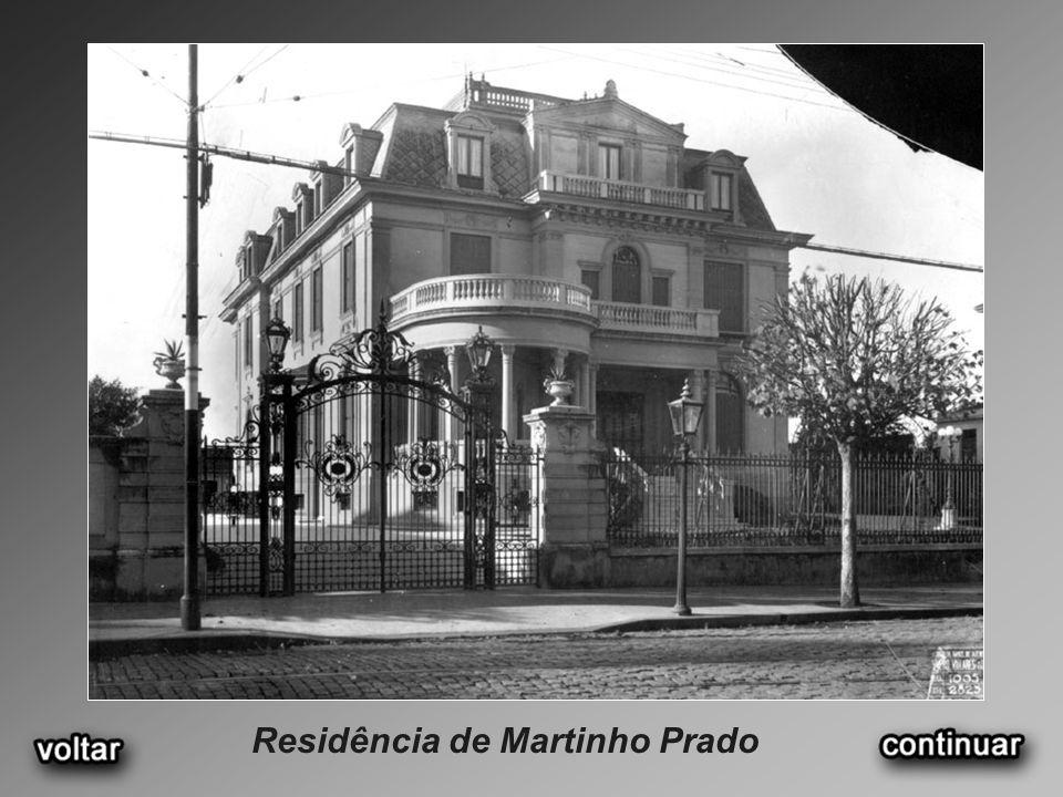 Residência de Martinho Prado